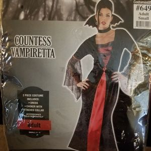 Countess Vampiretta Halloween Costume! Adult Small